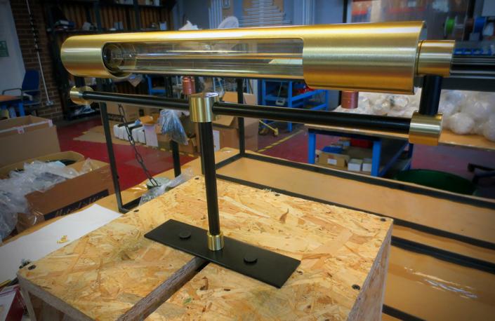 Custom Made - Cylinder Table Lamp