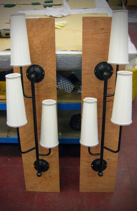 Custom Made - Triple Arm Wall Lights