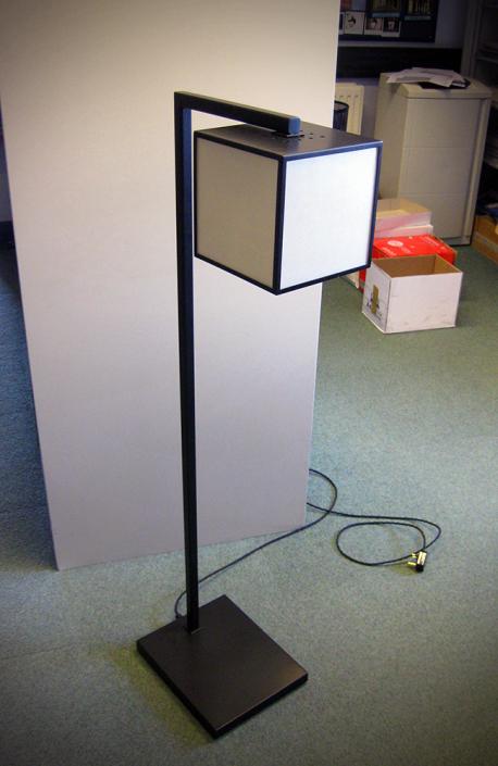 Custom Made - Floor Standing Cube Lamp