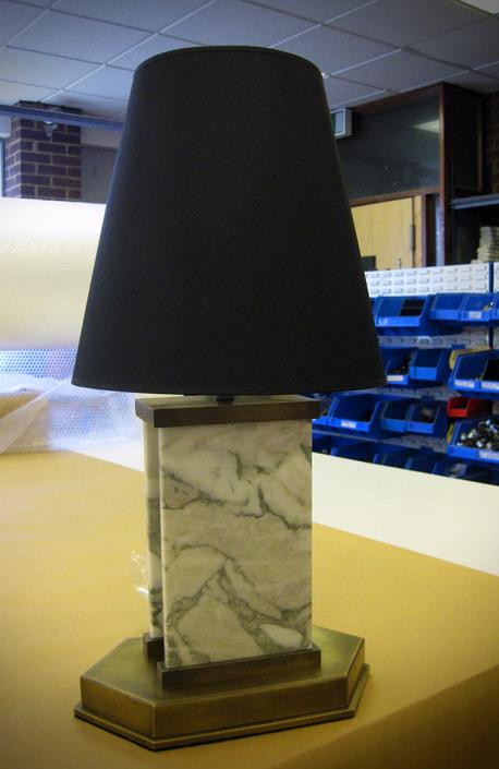 Custom Made - Marble Table Lamp