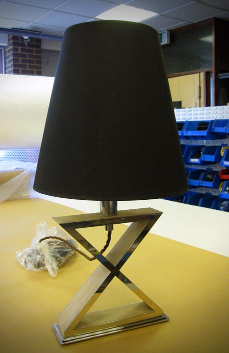 Custom Made - X Table Lamp