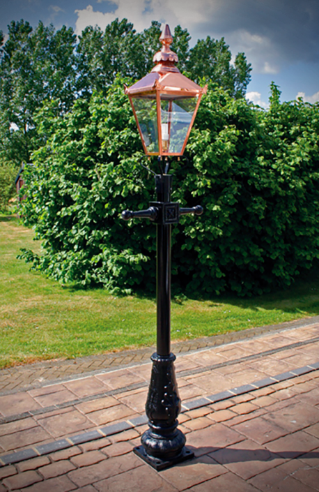 Victoria I Four Sided Lantern - Metro Ltd.