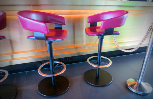 Custom Made - Pink Bar Stool