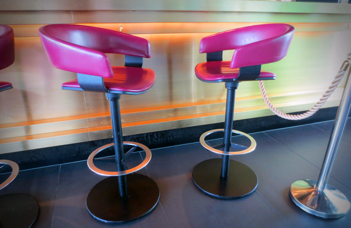 Custom Made - Pink Bar Stool