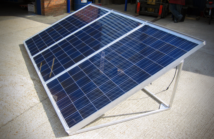 Custom Made - Solar Panel Frame