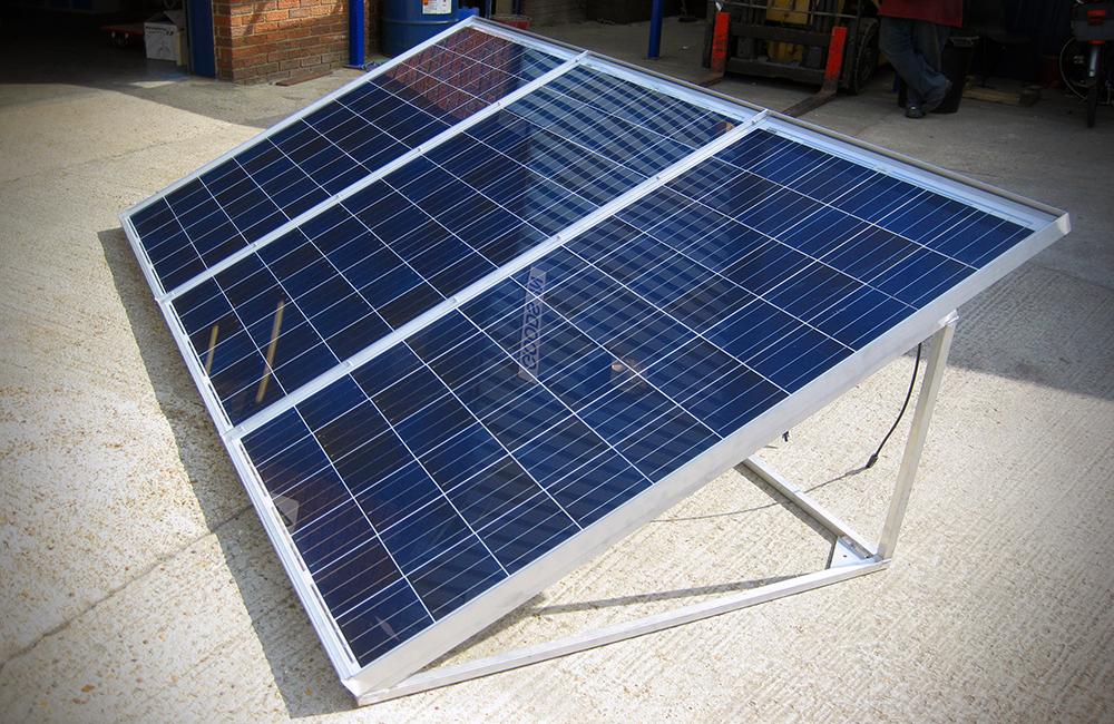 Custom Made - Solar Panel Frame