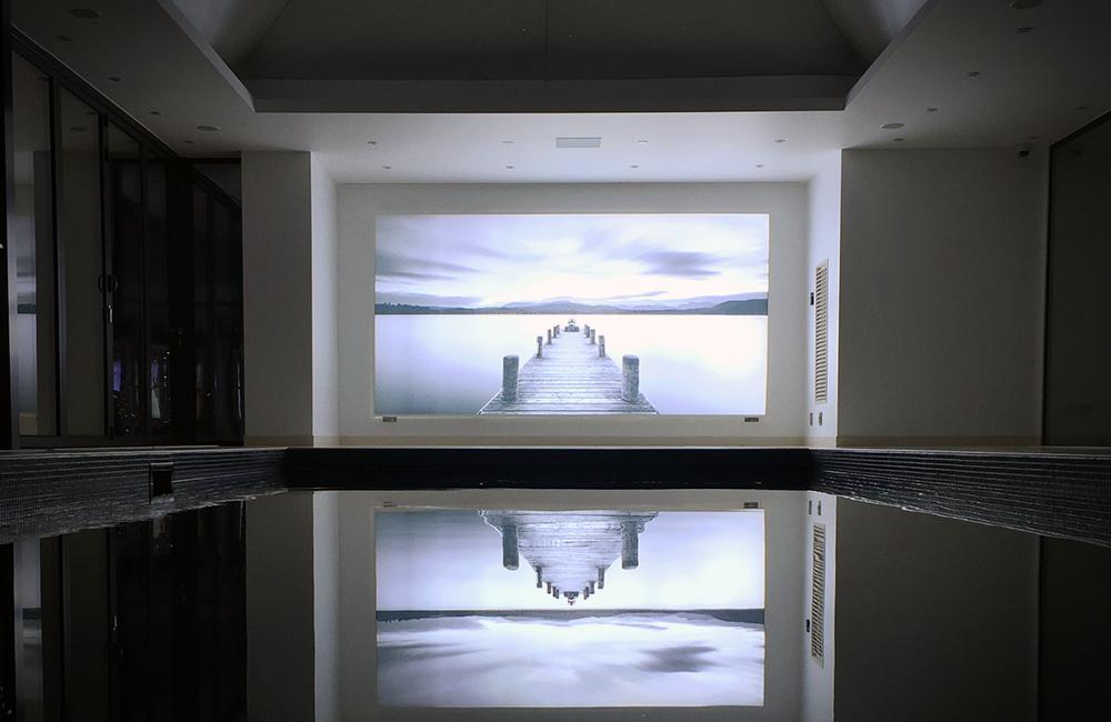 Custom Made - Swimming Pool Lightbox
