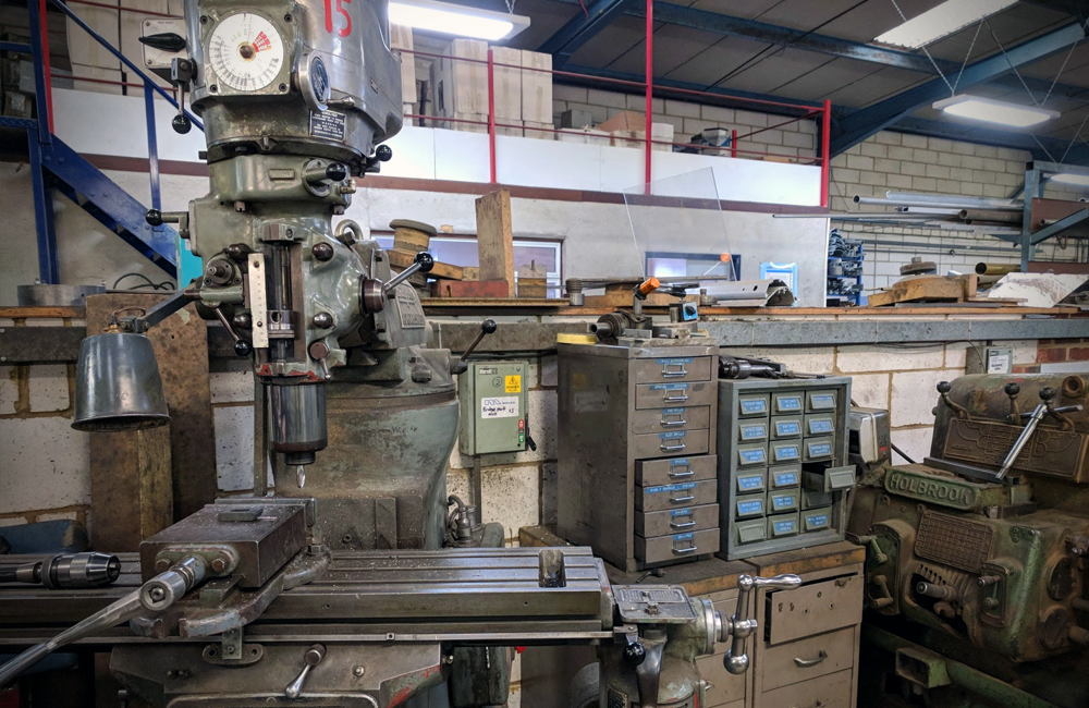 Metro Ltd. - Factory Shot - Machinery